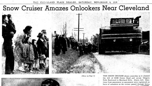 Snow Cruiser nov 4 1939e